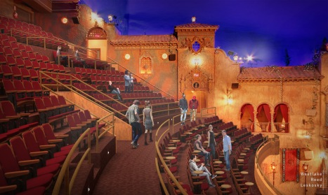TampaTheatre_Mezzanine Level Rendering