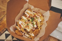 WAFFLE FRY NACHOS from The Melt Shoppe