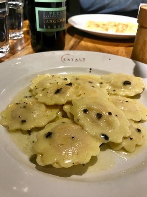 Eataly, Truffle Ravioli